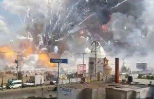 Ngeri.. Inilah Ledakan Pabrik Mercon Yang Sangat Menakutkan