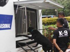 Unit Khusus K-9 Milik BNN Riau