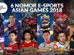 Serunya 6 Game E-Sports di Asian Games 2018