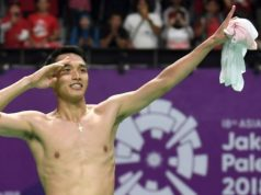 Badminton Putra Gemilang di Asian Games 2018