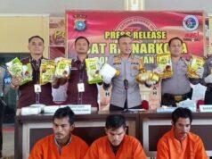 400 Kilogram Sabu-sabu Batal Beredar di Riau