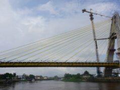 Rambu-rambu Dilarang Berhenti dan Foto di Atas Jembatan Siak IV Akan Segera Di Pasang