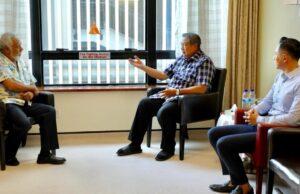 Xanana Gusmao Menjenguk Ibu Ani, Dan Beri Semangat untuk SBY dan AHY