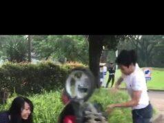 VIRAL ,Tidak Terima Ditilang, Pemuda di BSD Rusak Sepeda Motor