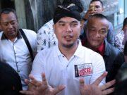 Sebelum Dipindah ke Surabaya Fahri Hamzah dan Fadli Zon Jenguk Ahmad Dhani