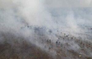 Hari Ini Petugas Lakukan 30 Kali Water Bombing, Untuk Mengatasi Kathutla di Dumai