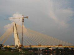 Arus Lalulintas dari Jalan Sudirman Menuju ke Jembatan Siak IV Terpantau Ramai Lancar