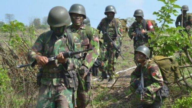 Sa'at Amankan Proyek Trans Papua-Wamena, Pasukan TNI Diserang KKB, 3 Prajurit Gugur Dalam Baku Tembak