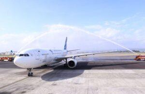 Pesawat Garuda Lakukan Pendaratan Darurat di Sri Lanka Ini Penyebabnya