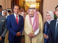 Jokowi dan Keluarga Berkesempatan Foto Bareng Raja Salman