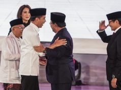 Survei Poltracking: Jokowi Masih Unggul 54,5 Persen dan Prabowo 45,5 Persen