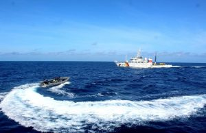 TNI AL Menyebut KRI Tjiptadi-381 Diprovokasi Kapal Pengawas Ikan Vietnam