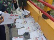 Ditemukan 1 Koli Surat Suara Dapil Sumbar di Bawah Jembatan di Riau