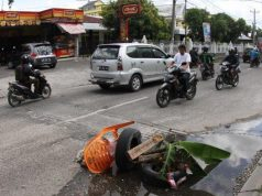 Jalan Rusak di Pekanbaru Capai Ribuan Titik, Pengamat : 'Ada Mafia-mafia Proyek'