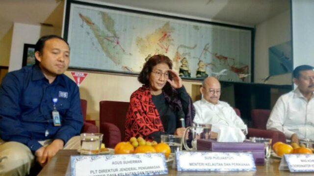 Menteri Susi : Tidak Setuju Kalau Di Lelang,Saya Ingin Kapal Asing Dimusnahkan