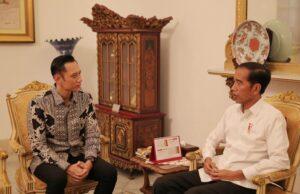 Jokowi dan AHY Bertemu 4 Mata, Ini Isi Pembicaraannya