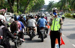 Duh! Hari Pertama PSBB di Pekanbaru, Warung Kopi Masih Tetap Ramai