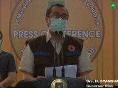 BREAKING NEWS Kasus Covid-19 di Riau hingga 2 April 2020, 7 Kasus Positif, ODP 20.004 Orang
