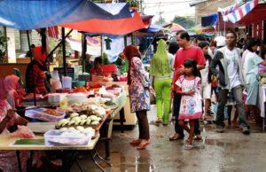 Cegah Penularan Covid-19,Pasar Kaget di Pekanbaru Bakal Segera Ditertibkan