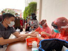 BREAKING NEWS: Swab Test Massal Hari Ini Digelar di Pasar Bawah Pekanbaru