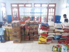 Ratusan Paket Sembako Siap Disalurkan Di 2 Kecamatan Kota Pekanbaru