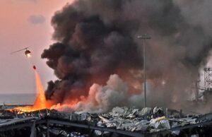 BREAKING NEWS : 2 Ledakan Guncang Ibu Kota Lebanon, 73 Orang Tewas dan Ribuan Terluka